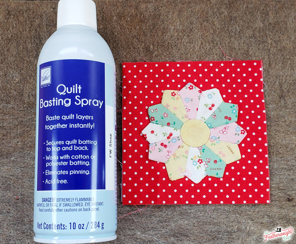 Quilt Basting Spray