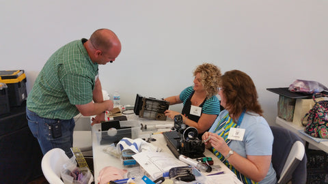 Singer Featherweight Maintenance Workshop Retreat at the Missouri Star Quilt Company