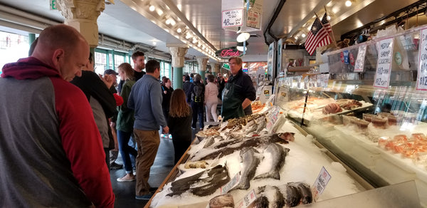 Pike's Place Market in Seattle, Washington