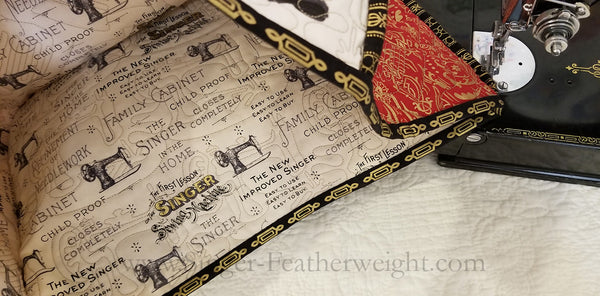 "Singer Featherweight Dust Cover ""Fanny the Featherweight"" Kit"