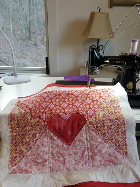 Singer Featherweight Shop Love Letter Pillow Sew Along