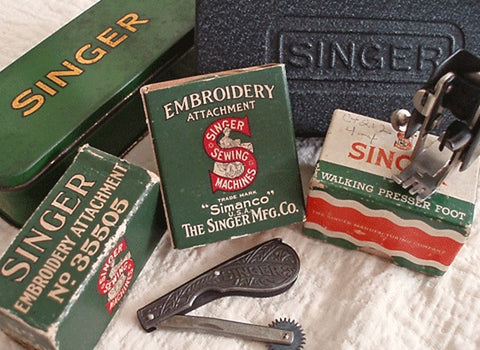 Singer Featherweight 40 40 Attachments Accessories The Fascinating Vintage Singer Sewing Machine Attachments