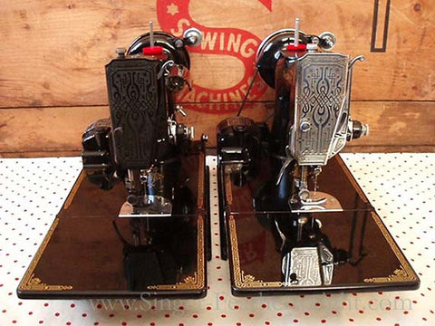 Singer Featherweight 221 Blackside Comparison