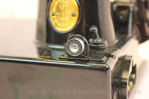 Singer Featherweight 221 Bobbin Winder Tension Unit