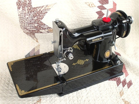 Singer Featherweight 40 Centennial 4040 The Singer Inspiration 100 Year Old Singer Sewing Machine Value