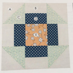 Churn Dash - Lori Holt Farm Girl Vintage Quilt - Sew Along with the Featherweight Shop