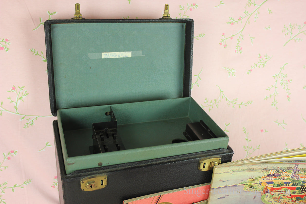 Singer Featheweight 221 Early Case Style II