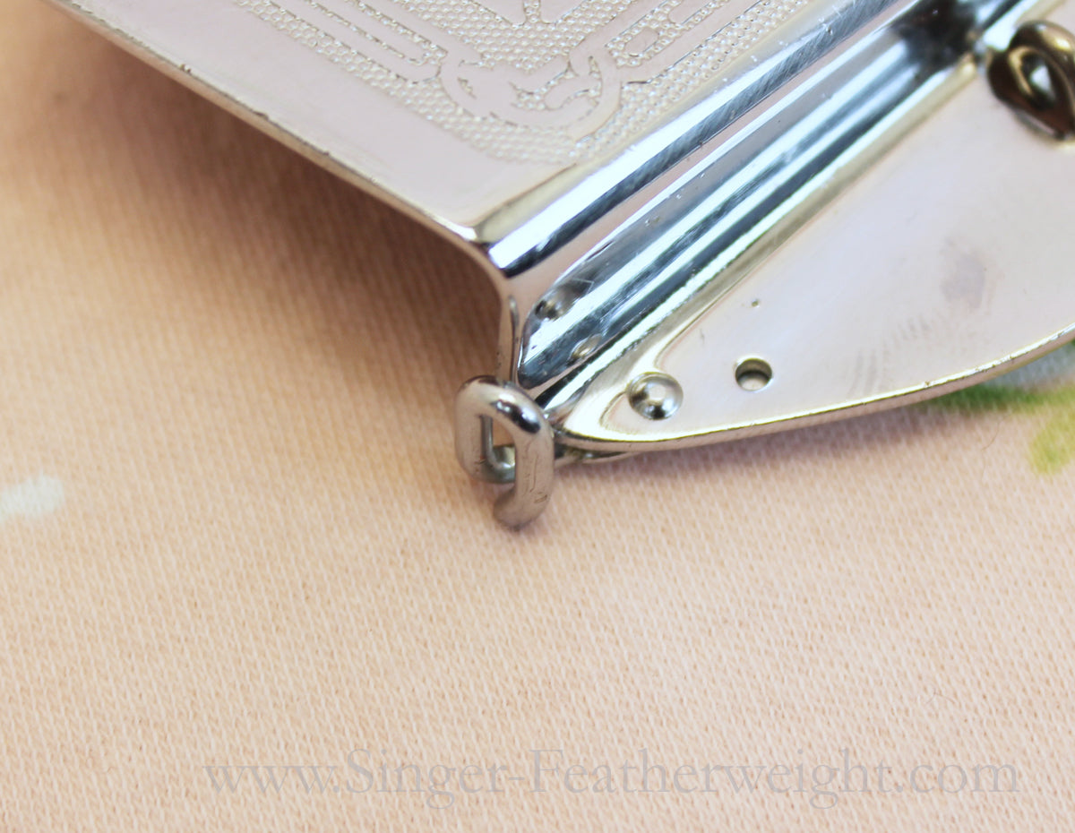 Singer Featherweight 221 Early Faceplate with loop