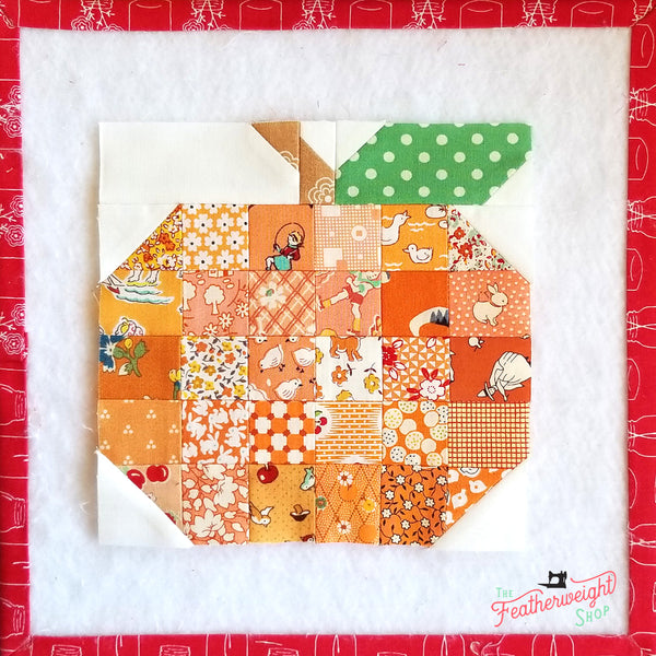 Farm Girl Vintage Sampler Quilt by Lori Holt of Bee in My Bonnet - Sew Along with the Featherweight Shop