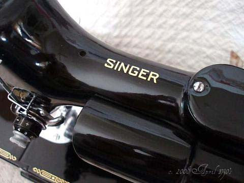 Singer Featherweight 221 Top Decal