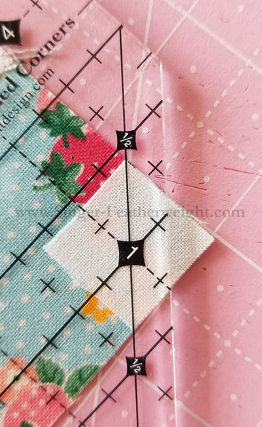 Mini Simple Folded Corners Cutting Ruler by Antler Quilt Design