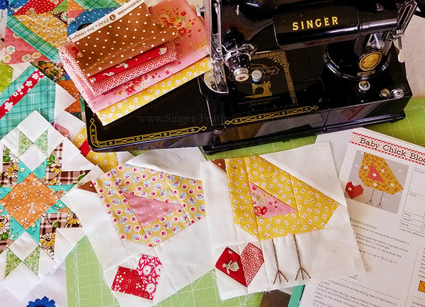 Farm Girl Vintage Sew Along with the Featherweight Shop