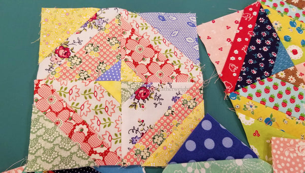 Singer Featherweight Shop Farm Girl Vintage Quilt Sew Along