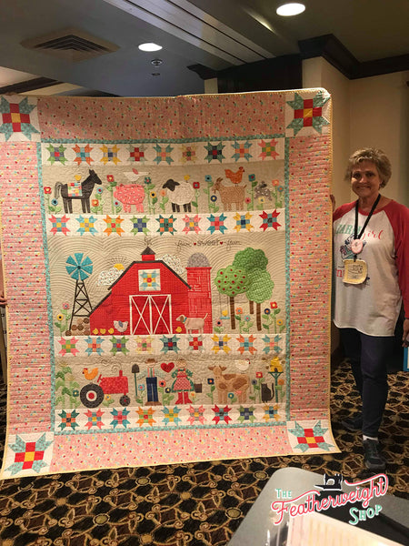 Farm Sweet Farm Quilt Kit by Lori Holt of Bee in Bonnet