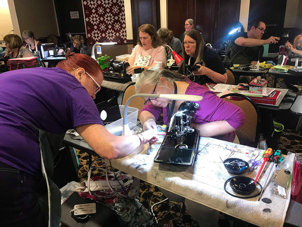 Singer Featherweight Maintenance & Lori Holt Retreat - McCall, Idaho 2019