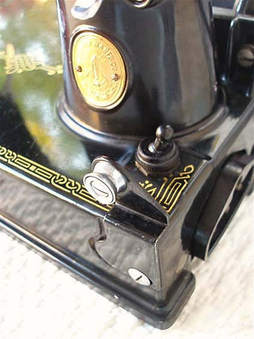 Singer Featherweight 221 Front Mount Bobbin Winder Tension Unit