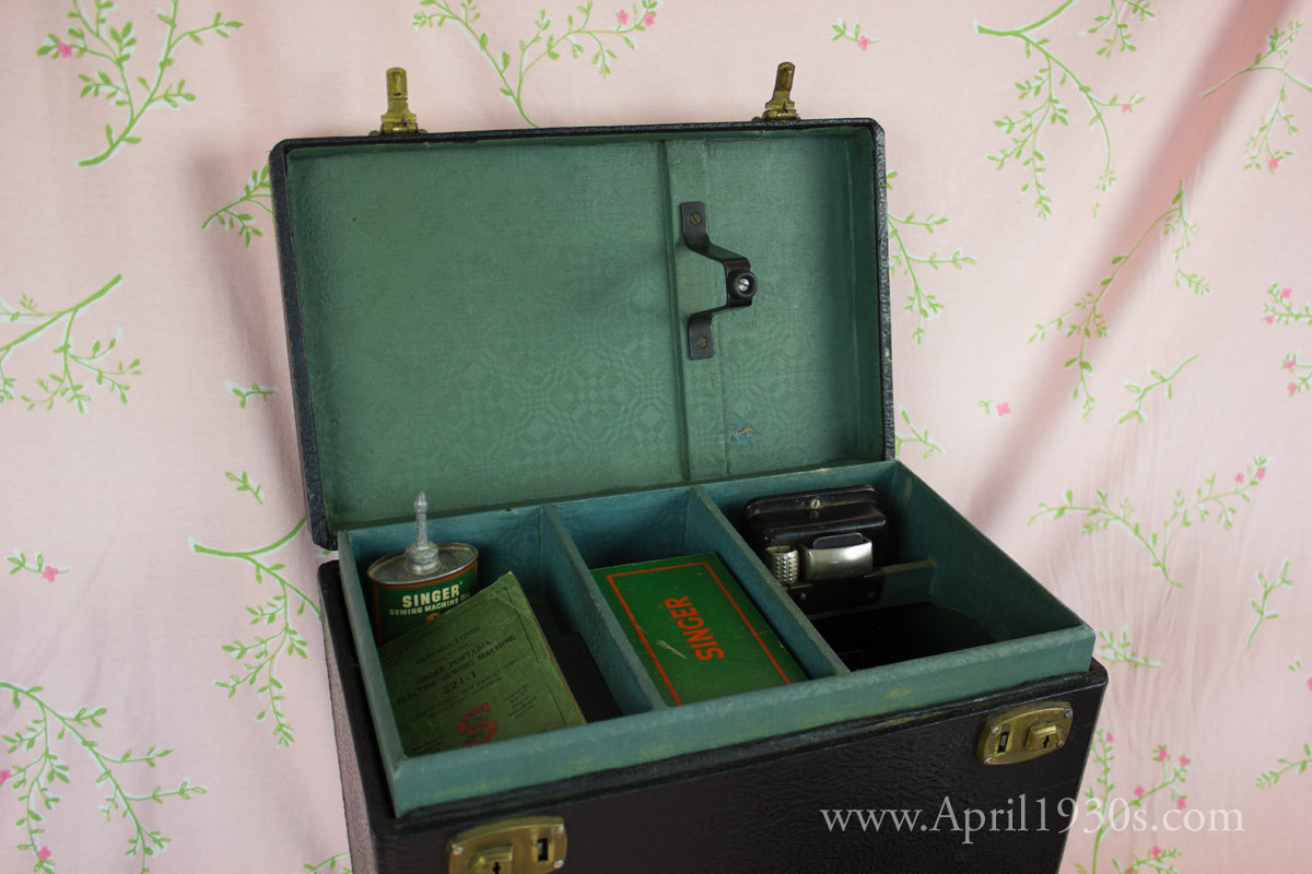 Singer Featherweight 221 Early Style I Case