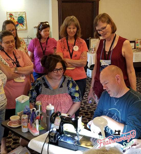 Featherweight Maintenance & Lori Holt Farm Girl Vintage Retreat, McCall, Idaho 2019