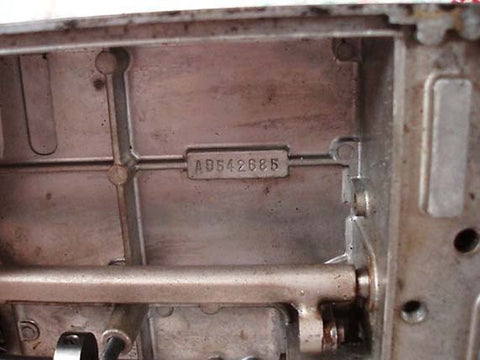 Singer Featherweight 221 Early Serial Number Block