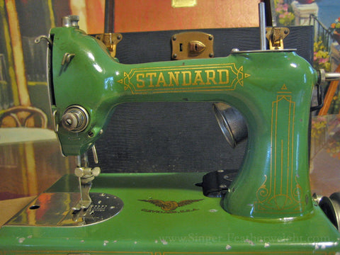 "Standard ""Featherweight"" Sewing Machine - photo courtesy of JJ & Leo of The Featherweight Factory"