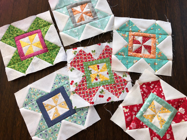 Farm Girl Vintage quilt Sew Along with the Featherweight Shop