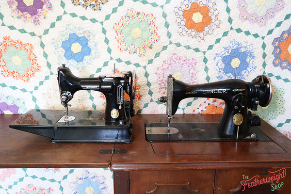 Singer Featherweight to Singer 15 Comparison