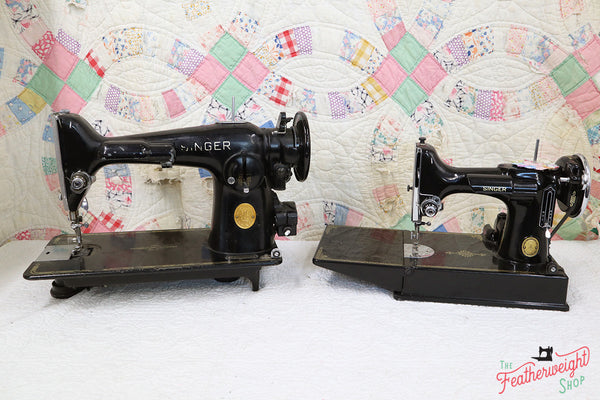 Singer Featherweight to 201 Comparison