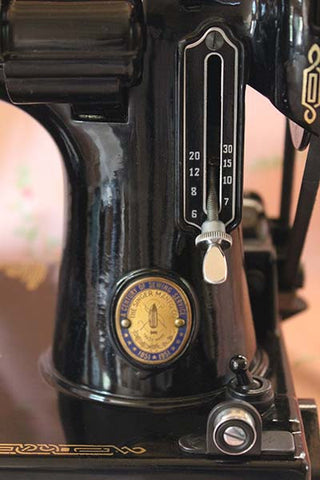 Singer Featherweight 221 Black Stitch Length Indicator