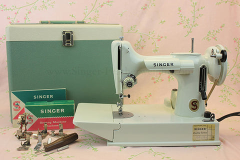 Singer Featherweight 40 And Its History Timeline The Singer Adorable 1947 Singer Featherweight Sewing Machine