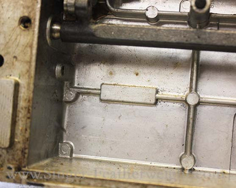 Singer Featherweight 221 Blank Serial Number Block