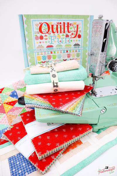 Lori Holt Sewing Machine Cover & Mat for the Singer Featherweight