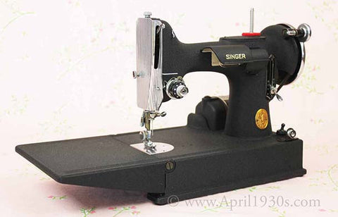 Singer Featherweight 221 Wrinkle Finish Later Style