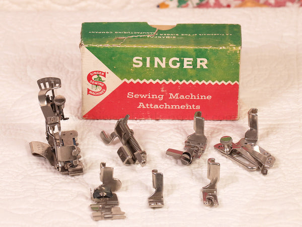 Singer Featherweight 222K Attachments Set