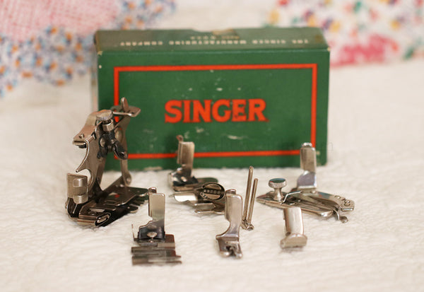 Singer Featherweight 221 Attachments Set #3