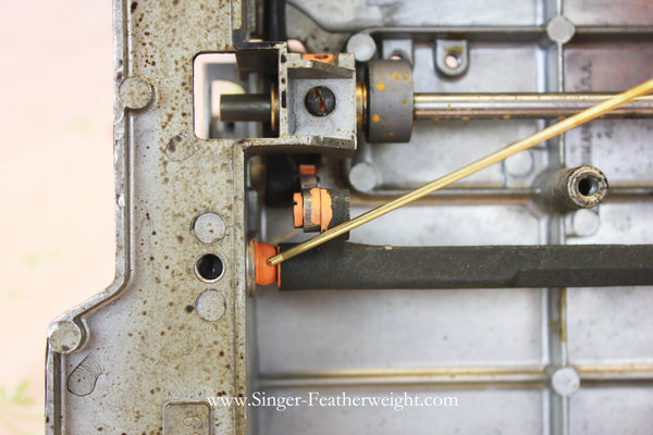 How and Where to Oil the Singer Featherweight 221 Sewing Machine