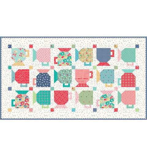 good morning mugs quilt kit