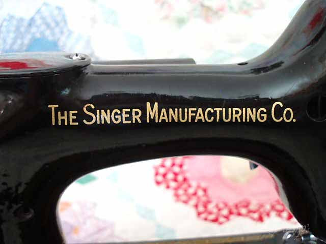 Singer Featherweight 221 Singer Mfg. Co Decal