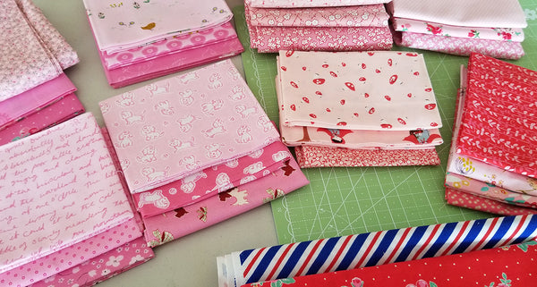 Love Letter Pillow - Fabric Selection