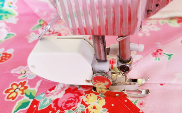Walking Foot Quilting on a Singer Featherweight 221 or 222