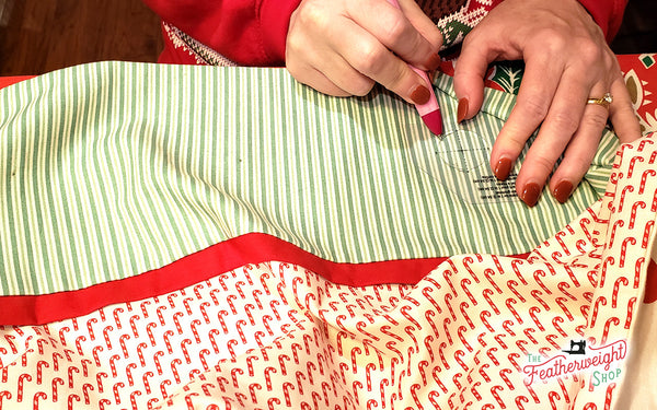 Making a Santa Sack from a Standard Pillow Case