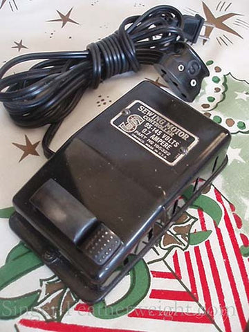 New Bakelite Foot Controller for SINGER Featherweight 221~222 Sewing Machines