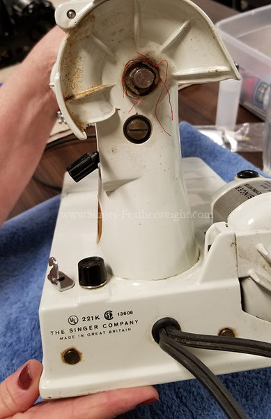 Novice Singer Featherweight Maintenance 221 222K Workshop