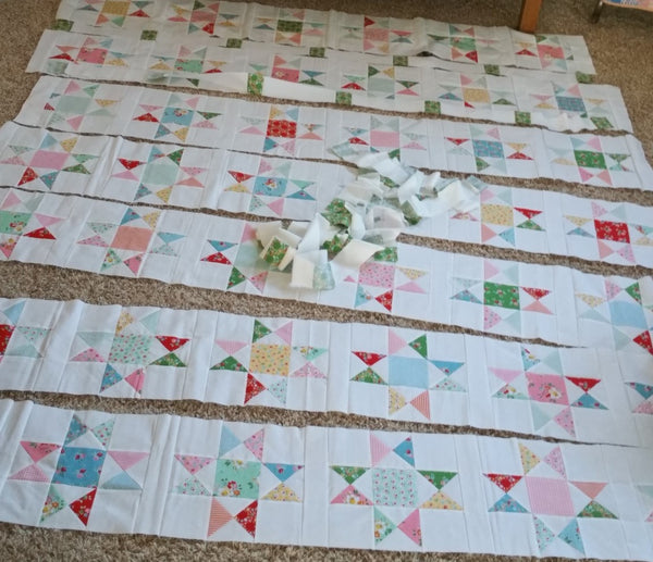 Ohio Star King Size Quilt