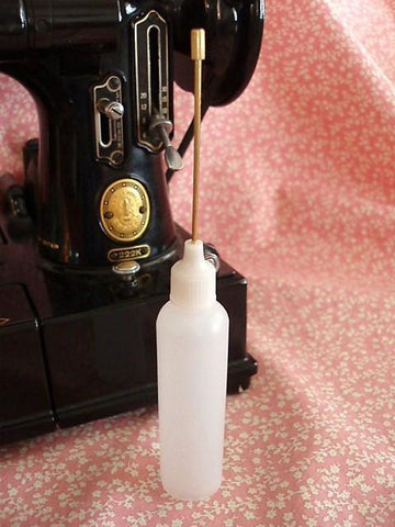 Singer Featherweight oil bottle empty from The Featherweight Shop