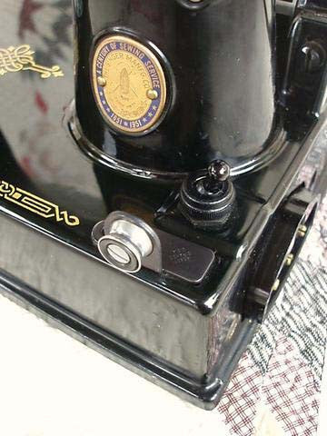 Singer Featherweight 221 Light Switch