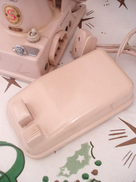Singer Featherweight 221 Tan Foot Controller