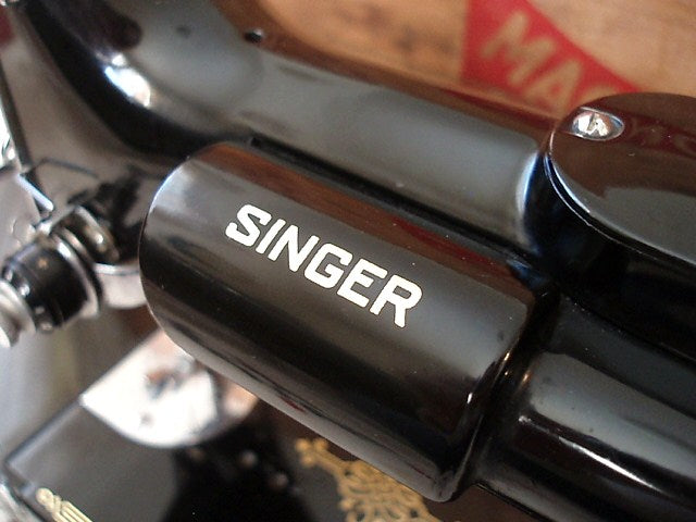 Singer Featherweight 221 Early Light Housing Decal