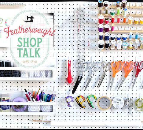 Shop Talk Pegboard Cover