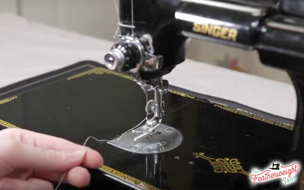Prepare for Sewing, Getting To Know Your Singer Featherweight - Part 5