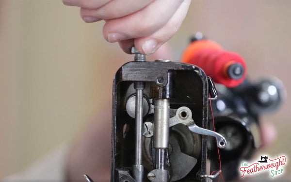 Presser Foot Pressure Tutorial - Singer Featherweight 221 222